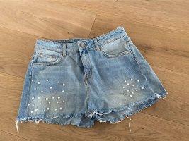 Süße Perlen jeans short