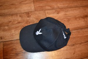 Süße Playboy Mütze schwarz