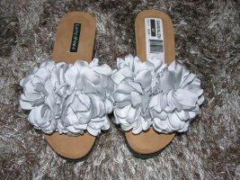 Süsse Sandalen Pantoletten von Lucky Shoes mit Keilabsatz LP 69,95€ Neu