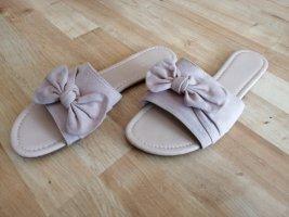 Sandales confort vieux rose-rosé