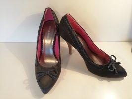 Bullboxer Shoes anthracite-magenta