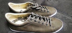 Süße Schuhe Sneaker grau Leder Esprit 38 neu mit Etikett
