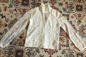 Nakd Blusa in merletto bianco Tessuto misto