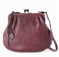 aunts & uncles Handbag bordeaux leather