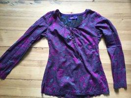 Mexx Tunique-blouse brun pourpre-violet coton