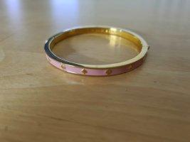 Kate Spade Sztywna bransoletka złoto-różowy