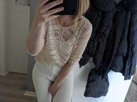 Boutique Pull en crochet beige clair