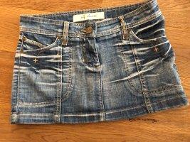Zara Gonna di jeans blu fiordaliso