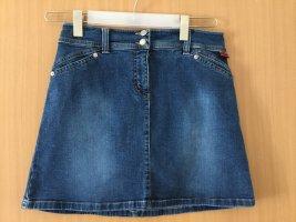 Tom Tailor Jupe en jeans bleu acier