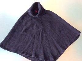 Capa negro lana de alpaca