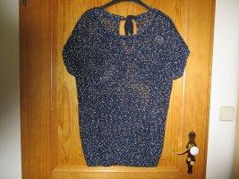 Esmara Coarse Knitted Sweater dark blue-white