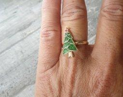 I am Gouden ring goud-groen