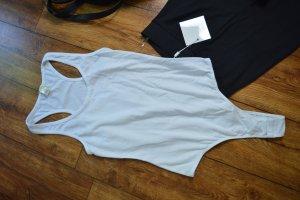 Süßer weisser Basic Shirt Body Gr. 38 BOZZOLO