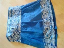 süßes blau-weißes Blusentop ohne Träger von BENETTON 36