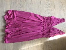 Blumarine Suknia wieczorowa fioletowy Jedwab
