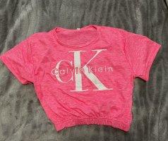 Calvin Klein Cropped Shirt pink