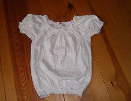 Carmen Shirt white cotton