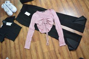 Süßes Langarm Cropped Shirt Gr. 38 FB Sister rose