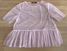 Süßes Mesh-Shirt in Rosa