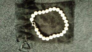 Pearl Bracelet white-silver-colored