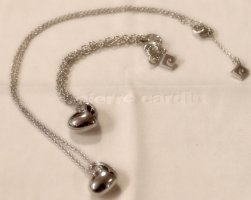 Süßes Schmuckset aus 925 Sterling Silber - Armband & Kette #loveisintheair