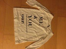Süßes Sweatshirt mit 3/4-Ärmel
