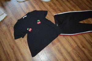 Nakd T-Shirt black-red