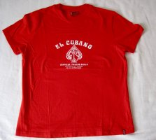 Levi's T-Shirt bright red cotton