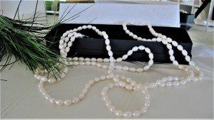 Süßwasser-Perlenkette ⭐ 2,50m endlos, NEU & ungetragen NP 1250,-€ ⭐