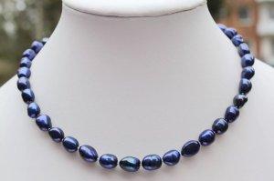 Collar estilo collier azul