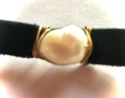 0039 Italy Bracelet en perles blanc-blanc cassé