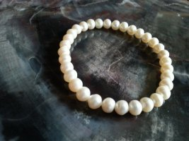 Armband met parels wit