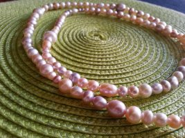 Collier Necklace nude-apricot