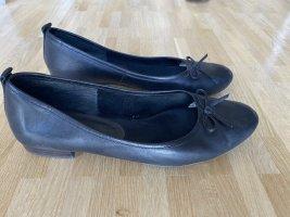 Tamaris Mary Jane Ballerinas black leather