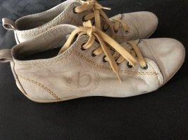 Bugatti Sneaker stringata crema-beige chiaro Pelle