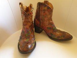 Old Gringo Boots Botki w stylu western cognac