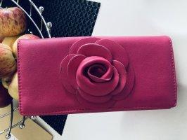 Super extravaganter Geldbeutel pink neu
