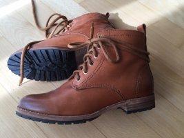 H&M Botas de tobillo marrón Cuero