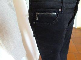 Bogner Jeans Straight Leg Jeans black cotton