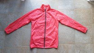 Crivit Windstopper ceglasty-czerwony Tkanina z mieszanych włókien