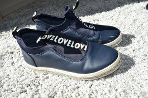Super Me Sneaker LOVE dunkelblau