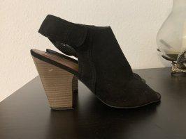 5th Avenue Chaussure à talons carrés noir