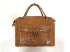 Super schöne  60er Jahre True Vintagetasche Henkeltasche in braun