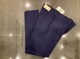Michael Kors Breeches dark blue viscose