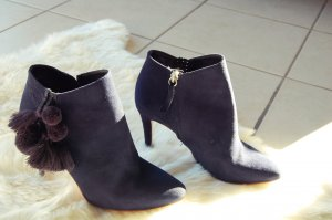 Zara Basic Loafers donkerblauw