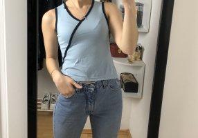 tagoss V-Neck Shirt baby blue-azure