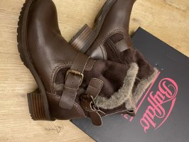 Buffalo Bottes fourrées brun cuir