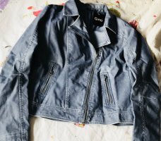 Super weiche jacke in jeansblau