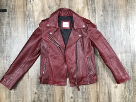 Each & Other Leather Jacket multicolored leather