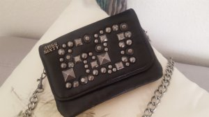 Miss Sixty Mini Bag black-silver-colored